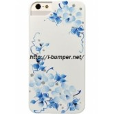 Чехол накладка iCover iPhone 5/5S Sweet Rose White/Blue
