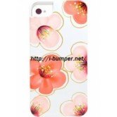 Чехол накладка iCover iPhone 5/5S Cherry Blossoms White/Red