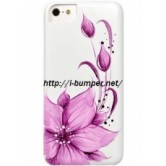 Чехол накладка iCover iPhone 5/5S Flower Purple