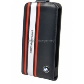 Чехол BMW для iPhone 5/5S Motorsport Flip Navy blue