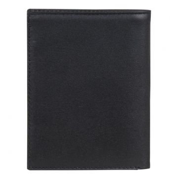 портмоне мужское из натуральной кожи (чёрный)