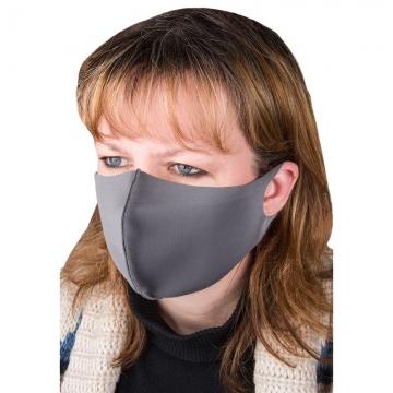 маска для лица из неопрена серая