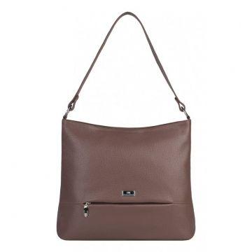 сумка женская из натуральной кожи (какао)