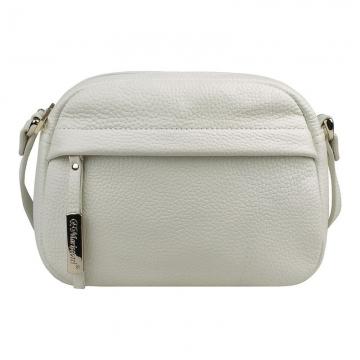 сумка женская из натуральной кожи (белая)
