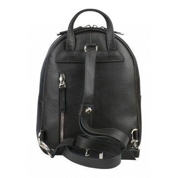 рюкзак женский кожаный небольшой (коричневый)