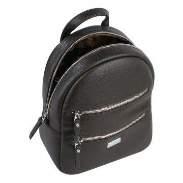 рюкзак женский из натуральной кожи (коричневый)