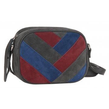 сумка женская замшевая через плечо
