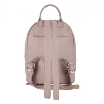 рюкзак женский из искусственной кожи (жемчужный)