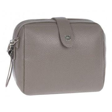 миниатюрная женская сумочка из натуральной кожи (капучино)