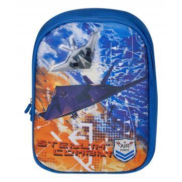 школьный ранец для мальчика (с самолетом)