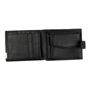 """мужской кожаный кошелек 0-06В фл""""п"""""""