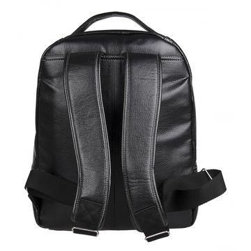 мужской рюкзак из искусственной кожи с отделением для ноутбука