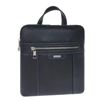 Мужская сумка через плечо из натуральной кожи купить в спб