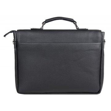 портфель мужской из искусственной кожи (чёрный)