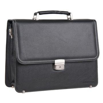 портфель мужской классический из натуральной кожи