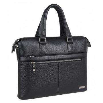 сумка-портфель с отделением для ноутбука мужская кожаная