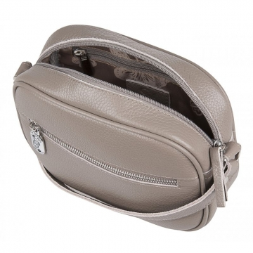 женская сумка кожаная (капучино)