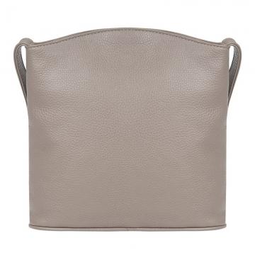 женская сумка-планшет кожаная (капучино)