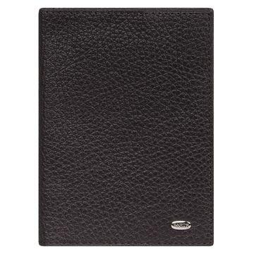 обложка для паспорта и автодокументов кожаная (коричневая)
