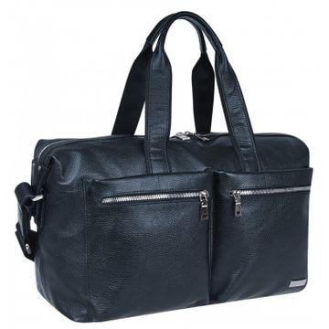 сумка дорожная из натуральной кожи с отделом для ноутбука