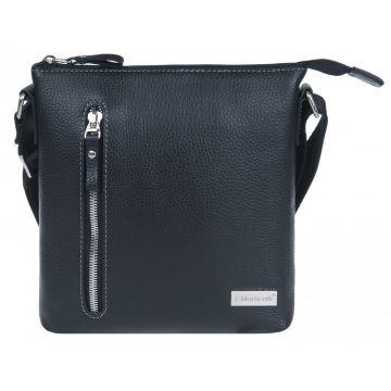 мужская сумка через плечо кожаная 2-756кFM2