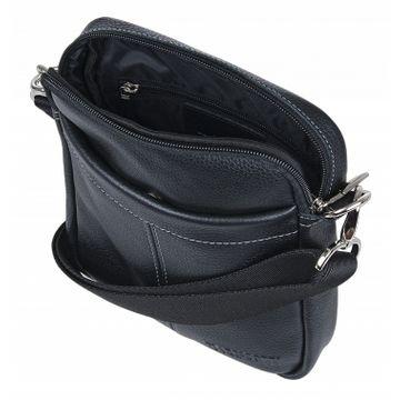мужская сумка через плечо кожаная 2-765кFM1