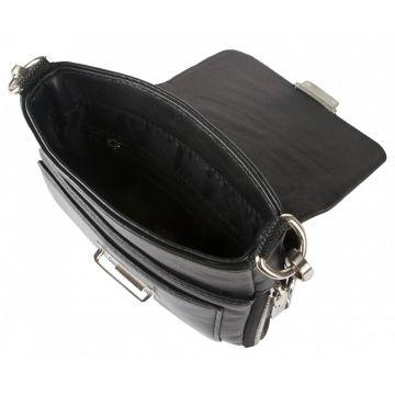 мужская сумка через плечо кожаная 2-435кFM1 магриб