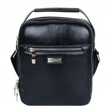 мужская сумка через плечо кожаная 2-847кFM2 ривьера