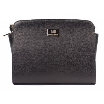сумка женская натуральная кожа (черная)