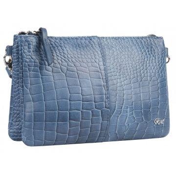 сумка женская из натуральной кожи 1-4062к-208нв кайман океан