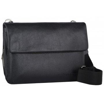 мужская сумка через плечо кожаная 2-569кFM1