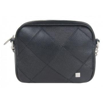 сумка женская из натуральной кожи (черная)