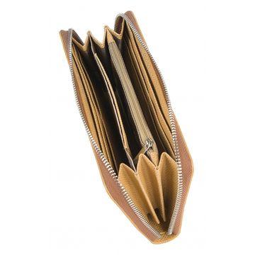 женский кошелек из натуральной кожи 0-753-1кайман беж