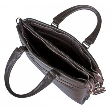 сумка портфель кожаная под формат а4 2-822кFM4 кор