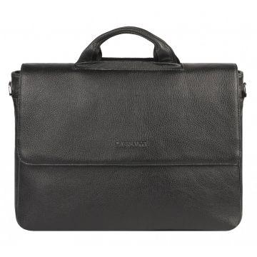 сумка портфель кожаная с карманом для ноутбука