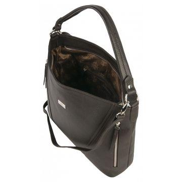 сумка женская кожаная (каштан)