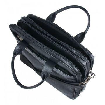мужская сумка для документов а4 кожаная 2-892кFM1