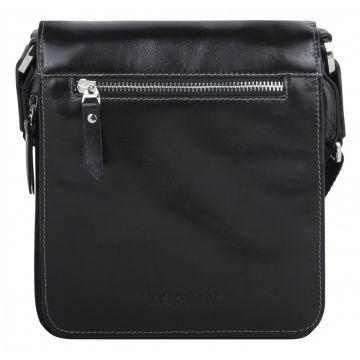 мужская сумка через плечо кожаная