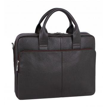 мужская сумка для документов а4 кожаная 2-640кFM1 кор