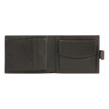 мужской кожаный кошелек 0-06В пл каштан