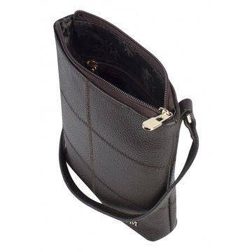 сумка женская из натуральной кожи (каштан)
