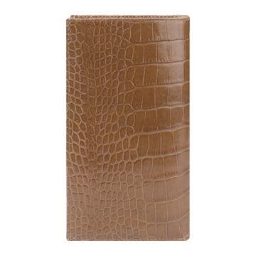 женский кошелек из натуральной кожи (светло-коричневый)