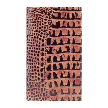 женский кошелек из натуральной кожи (коричневый) 0-234 FMл кайман 2 кор