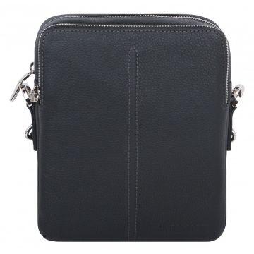 мужская сумка планшет через плечо кожаная