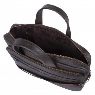 мужская сумка портфель для документов из натуральной кожи 2-812кFM1 кор