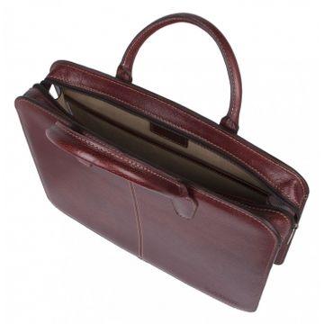 деловая женская сумка (темно-бордовая) 8-083кFM1 милано кор