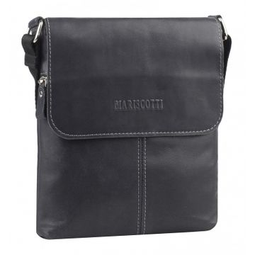 сумка-планшет с клапаном мужская кожаная