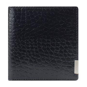 кредитница из натуральной кожи на 16 карт (черная)