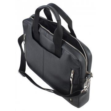 сумка-портфель мужская кожаная 2-699кFM1