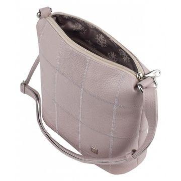 сумка женская из натуральной кожи (жемчужная)